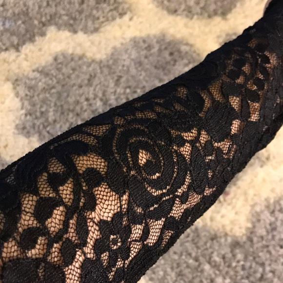 373abfef49d2 Never Worn Sexy Black Rodney lace bodysuit Romper